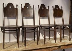 J J Kohn J J Kohn rarest neo gothic set of 8 dinning chairs - 1651306