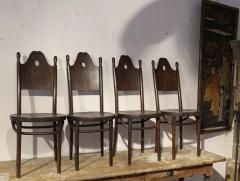 J J Kohn J J Kohn rarest neo gothic set of 8 dinning chairs - 1651308