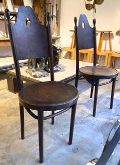 J J Kohn J J Kohn rarest neo gothic set of 8 dinning chairs - 1651316