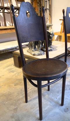 J J Kohn J J Kohn rarest neo gothic set of 8 dinning chairs - 1651318