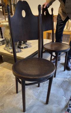 J J Kohn J J Kohn rarest neo gothic set of 8 dinning chairs - 1651321