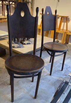 J J Kohn J J Kohn rarest neo gothic set of 8 dinning chairs - 1651323