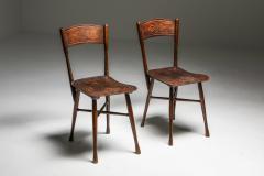 J J Kohn JJ Kohn dining chairs Austria 1900 - 1638215