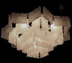 J T Kalmar Kalmar Lighting 1 of 2 Rare Ballroom Chandeliers by Kalmar Austria 1950s - 1548770