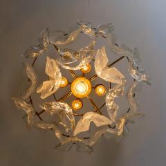 J T Kalmar Kalmar Lighting 1 of the 3 Massive J T Kalmar Catena Murano Glass Flush Mount Chandeliers - 1164745