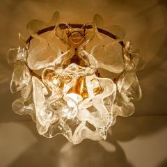 J T Kalmar Kalmar Lighting 1 of the 3 Massive J T Kalmar Catena Murano Glass Flush Mount Chandeliers - 1164749