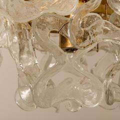 J T Kalmar Kalmar Lighting 1 of the 3 Massive J T Kalmar Catena Murano Glass Flush Mount Chandeliers - 1164754