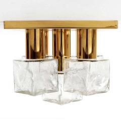 J T Kalmar Kalmar Lighting Kalmar 5 Glass Cube Flush Mount - 1526321