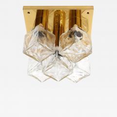 J T Kalmar Kalmar Lighting Kalmar 5 Glass Cube Flush Mount - 1527061