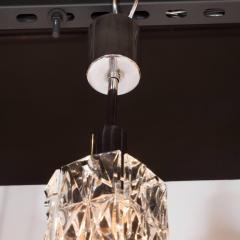 J T Kalmar Kalmar Lighting Mid Century Modern Etched Glass Pendant by J T Kalmar - 1460117