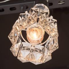 J T Kalmar Kalmar Lighting Mid Century Modern Etched Glass Pendant by J T Kalmar - 1460121
