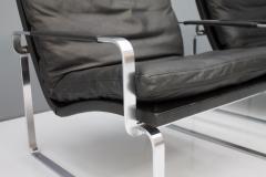 J rgen Lund Ole Larsen Pair of Danish Lounge Chairs by J rgen Lund Ole Larsen for Bo Ex - 1098378