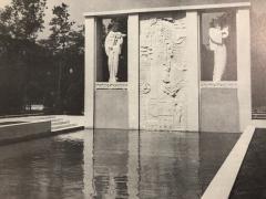Jan Joel Martel Jan Joel Martel Art Deco Cubist Bronze Musician Angel Monumental 2 of 8 - 1386818