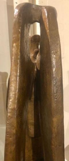 Jan Joel Martel Jan Joel Martel Art Deco Cubist Bronze Musician Angel Monumental 2 of 8 - 1386822