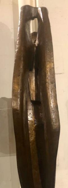Jan Joel Martel Jan Joel Martel Art Deco Cubist Bronze Musician Angel Monumental 2 of 8 - 1386823