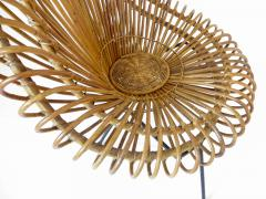 Janine Abraham Dirk Jan Rol Janine Abraham and Dirk Jan Rol French Rattan Lounge Chair for Edition Rougier - 1211471