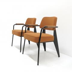 Jean Prouv Re Editions Vitra Fauteuil Direction by Jean Prouv  - 1069309