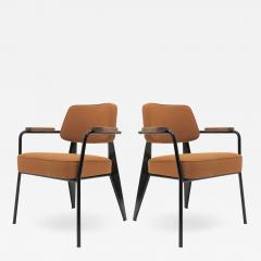 Jean Prouv Re Editions Vitra Fauteuil Direction by Jean Prouv  - 1131968