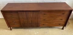 John Widdicomb Co Widdicomb Furniture Co American Modern Walnut and Bronze Dresser John Widdecomb - 1487372