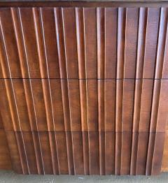 John Widdicomb Co Widdicomb Furniture Co American Modern Walnut and Bronze Dresser John Widdecomb - 1487373