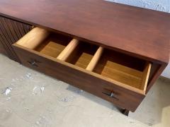 John Widdicomb Co Widdicomb Furniture Co American Modern Walnut and Bronze Dresser John Widdecomb - 1487378