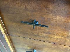 John Widdicomb Co Widdicomb Furniture Co American Modern Walnut and Bronze Dresser John Widdecomb - 1487379