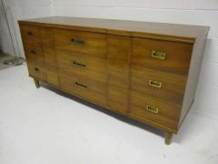 John Widdicomb Co Widdicomb Furniture Co Gorgeous John Widdicomb Asian Influenced Credenza Mid Century Modern - 1877278