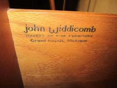 John Widdicomb Co Widdicomb Furniture Co Gorgeous John Widdicomb Asian Influenced Credenza Mid Century Modern - 1877284