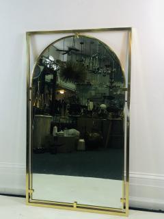 John Widdicomb Co Widdicomb Furniture Co MODERNIST BRASS FRAMED MIRROR DESIGNED BY JOHN WIDDICOMB - 1110244