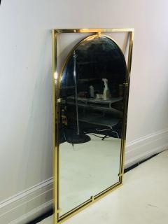 John Widdicomb Co Widdicomb Furniture Co MODERNIST BRASS FRAMED MIRROR DESIGNED BY JOHN WIDDICOMB - 1110248