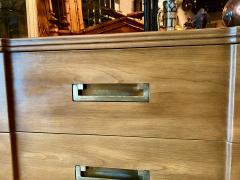 John Widdicomb Co Widdicomb Furniture Co Pair John Widdicomb Mid Century Walnut Chests of Drawers - 1916526