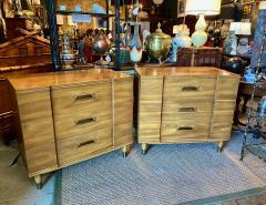 John Widdicomb Co Widdicomb Furniture Co Pair John Widdicomb Mid Century Walnut Chests of Drawers - 1916528