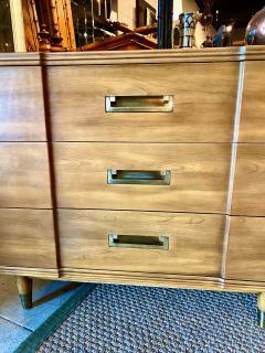 John Widdicomb Co Widdicomb Furniture Co Pair John Widdicomb Mid Century Walnut Chests of Drawers - 1916534