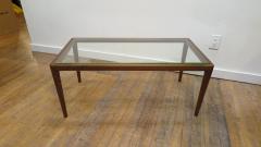 John Widdicomb Co Widdicomb Furniture Co T H Robsjohn Gibbings Walnut Coffee Table - 1916193