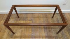 John Widdicomb Co Widdicomb Furniture Co T H Robsjohn Gibbings Walnut Coffee Table - 1916198