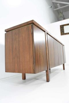 John Widdicomb Co Widdicomb Furniture Co Widdicomb Credenza or Sideboard in Walnut with Parquet Patterned Top - 1264307