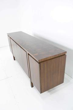 John Widdicomb Co Widdicomb Furniture Co Widdicomb Credenza or Sideboard in Walnut with Parquet Patterned Top - 1264308