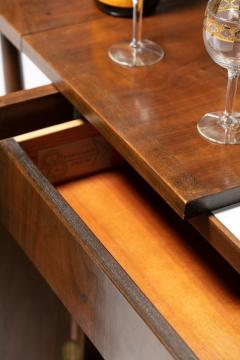 Johnson Furniture Bert England Forward Trend Mid Century Bar Cart for Johnson Furniture c 1960 - 2118805
