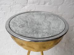 Johntomjoe Flamingo Ice Bucket Side Table in Gold Leaf by Johntomjoe - 542958