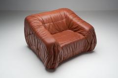 Jonathan De Pas Donato D Urbino Paolo Lomazzi De Pas D urbino and Lomazzi Lounge Chair for Dell Oca Italy 1970s - 1376979