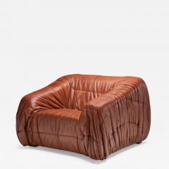 Jonathan De Pas Donato D Urbino Paolo Lomazzi De Pas D urbino and Lomazzi Lounge Chair for Dell Oca Italy 1970s - 1414493