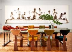 Juliana Lima Vasconcellos Studio Giraffe Dining chair by Juliana Lima Vasconcellos in solid wood - 1927355