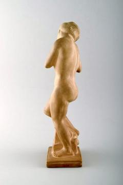 K hler Eve with the apple Figure in earthenware - 1217479