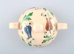 K hler Glazed lidded bowl with handles stoneware - 1346071