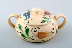 K hler Glazed lidded bowl with handles stoneware - 1346072