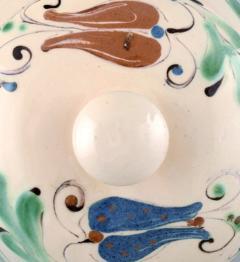 K hler Glazed lidded bowl with handles stoneware - 1346076