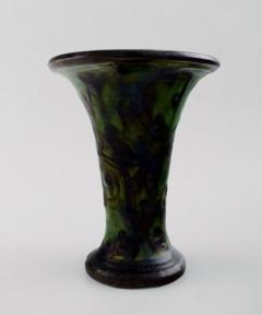 K hler Glazed stoneware vase trumpet shaped - 1346060