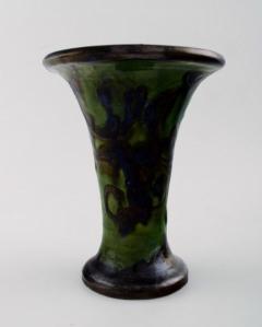 K hler Glazed stoneware vase trumpet shaped - 1346062