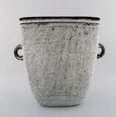 K hler K hler Denmark glazed large stoneware vase with handles - 1217474