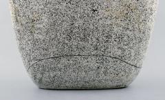 K hler K hler Denmark glazed large stoneware vase with handles - 1217485